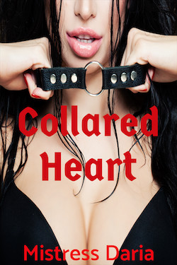 cover design for the book entitled Collared Heart