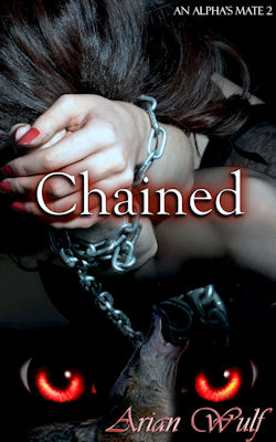 cover design for the book entitled Chained