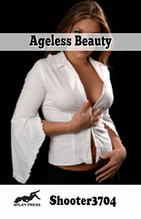 cover design for the book entitled Ageless Beauty