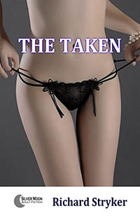 cover design for the book entitled The Taken