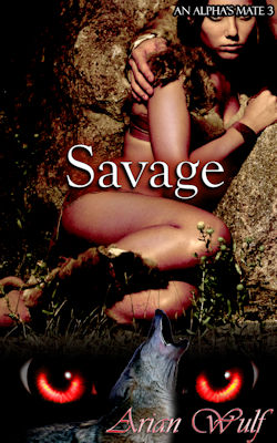 cover design for the book entitled Savage