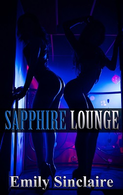 cover design for the book entitled Sapphire Lounge