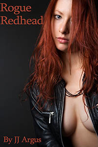 cover design for the book entitled Rogue Redhead