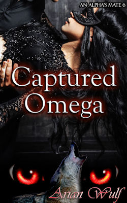 cover design for the book entitled Captured Omega