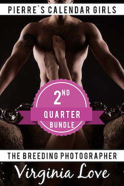Pierre's Calendar Girls: Second Quarter Bundle (April - June)
