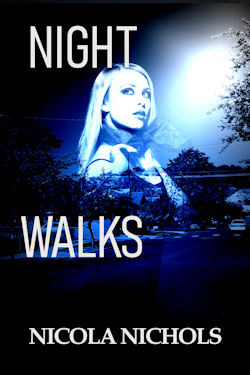 cover design for the book entitled Night Walks