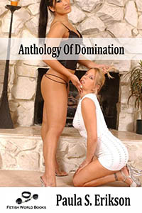 cover design for the book entitled Anthology of Domination