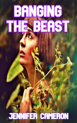 cover design for the book entitled Banging the Beast