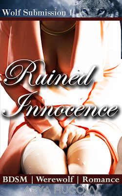 cover design for the book entitled Ruined Innocence