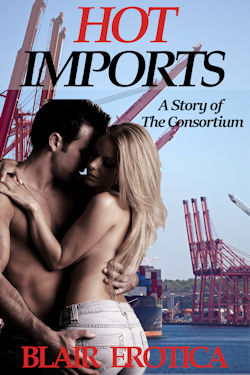 cover design for the book entitled Hot Imports