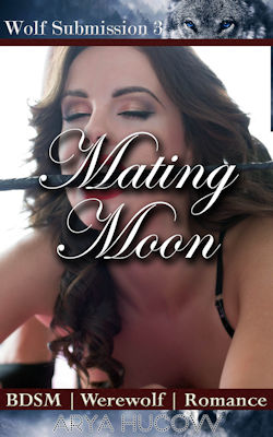cover design for the book entitled Mating Moon