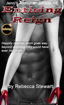 cover design for the book entitled Enticing Reign