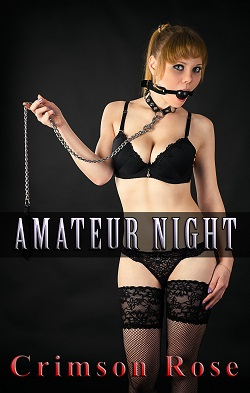 cover design for the book entitled Amateur Night