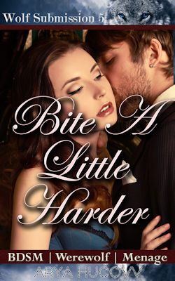 cover design for the book entitled Bite A Little Harder