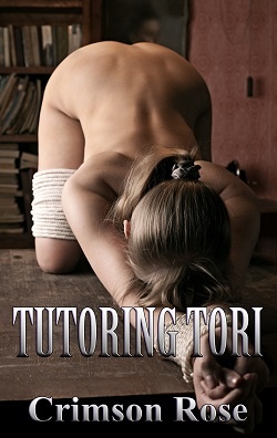 cover design for the book entitled Tutoring Tori