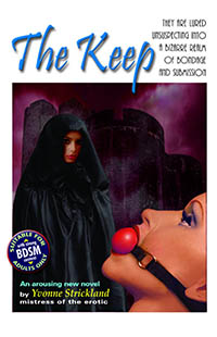 cover design for the book entitled The Keep