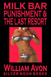 cover design for the book entitled Milk Bar Punishment & The Last Resort