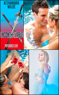 cover design for the book entitled Incontheivable: Paperback Love