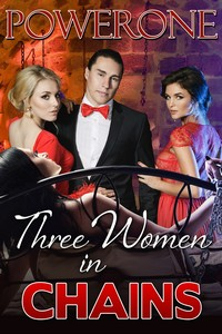 cover design for the book entitled Three Women in Chains