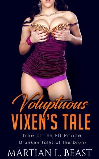 cover design for the book entitled Voluptuous Vixen