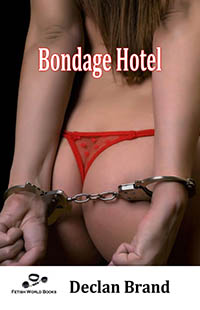 cover design for the book entitled Bondage Hotel