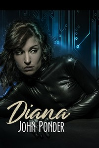 cover design for the book entitled Diana
