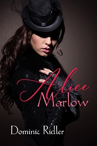 cover design for the book entitled Alice Marlow