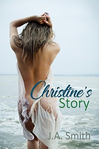 cover design for the book entitled Christine