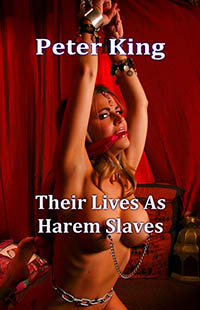 cover design for the book entitled Their Lives As Harem Slaves