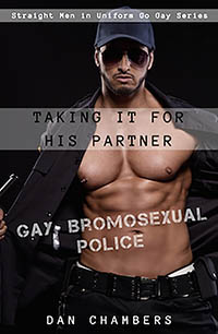 cover design for the book entitled Taking It for His Partner
