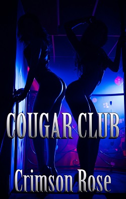 cover design for the book entitled Cougar Club