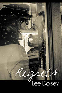 cover design for the book entitled Regrets