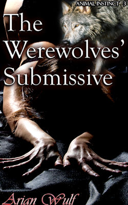 cover design for the book entitled The Werewolves