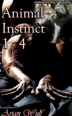 cover design for the book entitled Ani mal Instinct 1 - 4