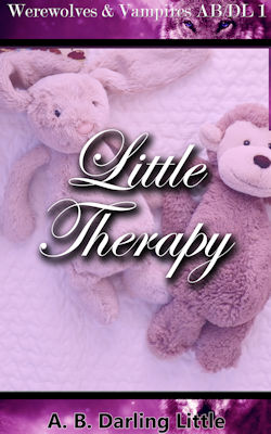 cover design for the book entitled Little Therapy