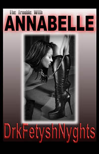 cover design for the book entitled The Trouble With Annabelle