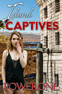 cover design for the book entitled ISLAND CAPTIVES