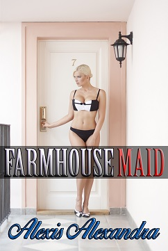 cover design for the book entitled Farmhouse Maid