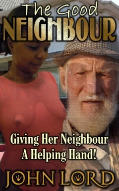 cover design for the book entitled The Good Neighbour