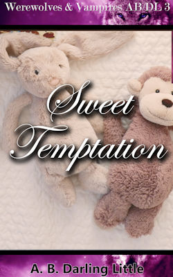 cover design for the book entitled Sweet Temptation