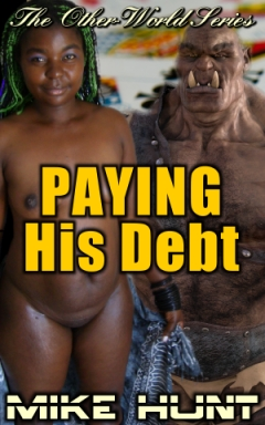 cover design for the book entitled Paying His Debt