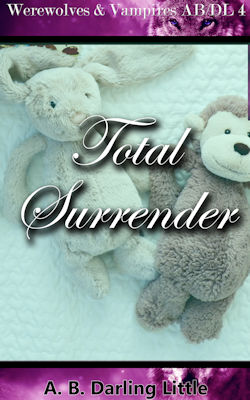 cover design for the book entitled Total Surrender