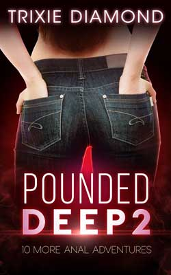 cover design for the book entitled Pounded Deep 2