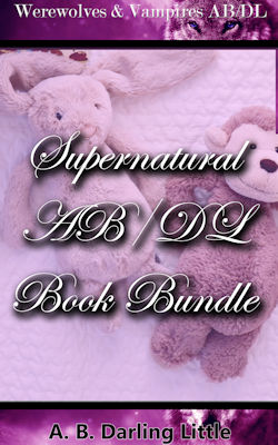 cover design for the book entitled Supernatural AB/DL Book Bundle