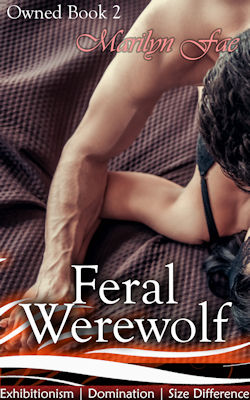 cover design for the book entitled Feral Werewolf