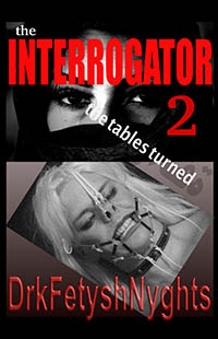 cover design for the book entitled The INTERROGATOR 2