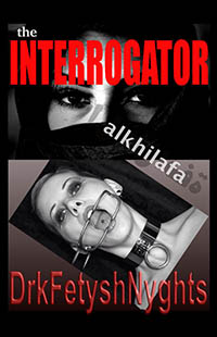 cover design for the book entitled The INTERROGATOR