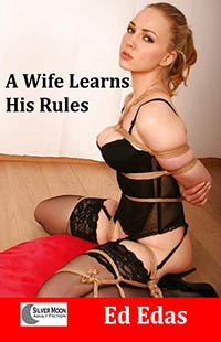 cover design for the book entitled A Wife Learns His Rules