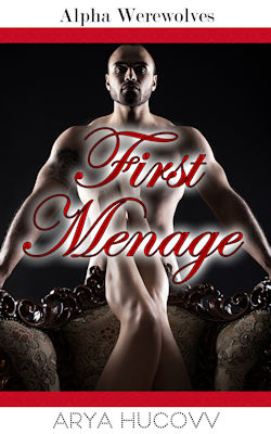 cover design for the book entitled First Menage