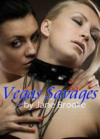 cover design for the book entitled Vegas Savages